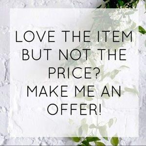 Make An Offer 💕✨